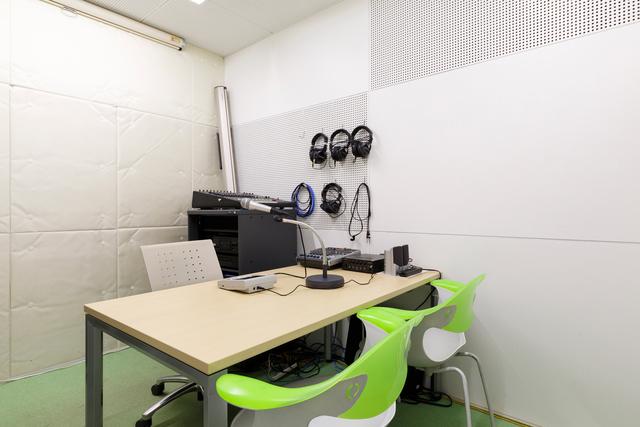 写真:録音室