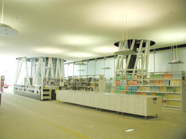 写真:市民図書館
